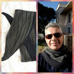 Je tricote ce patron pour la quatrième fois et il sera pour mon papa qui me l'a demandé ;)