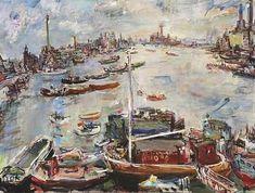 Londres : Chelsea, par Oskar Kokoschka