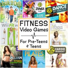 Best Fitness Video Games For Kids To Get Up And Get Moving!