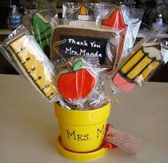 images of cookie bouquets   Teacher's Cookie Bouquet — Cookies!