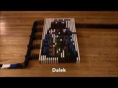 Dominoes Subscriber Special Crazy Pinterest - Video dominoes falling reverse simply mesmerizing