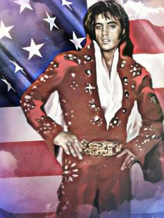 Our Elvis. An American icon.