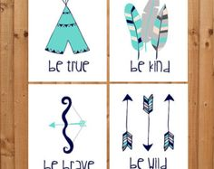 These adorable Tribal themed prints are great for any nursery or childs room!  Prints are made on Bamboo print paper for beautiful colors and lasting quality. All the prints are professionally printed with archival inks and designed to last!  ---------------------------------------------  Current print sizes available:  5x7 8x10 11x14 16x20  Sizes 5x7 to 11x14 are printed with archival quality inks on a art watercolor paper stock Sizes 16x20 is printed on Fuji Deep Matte archival photo…