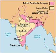 "European ""extroversion"" meant that other parts of the globe were to be subjugated.  The Fiscal-Military state played a big role in this. In India, for example, the East India Tea Company more or less conquered the country, extending control from its three major bases, Madras (now Chennai), Calcutta (now Kolkata), and Bombay (now Mumbai). British East India Company forces, under the leadership of Robert Clive, expelled the French from Bengal in 1757 and put down Indian rebellions during…"