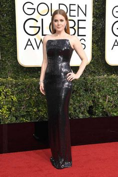 """Amy Adams in Tom Ford - """"Amy looks every bit the classic Hollywood screen siren in Tom Ford. I'm obsessed."""""""