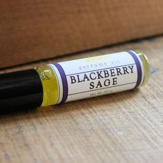 Blackberry Sage Perfume Oil - Long Winter Soap Co.