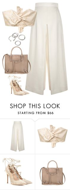 """Untitled#4502"" by fashionnfacts ❤ liked on Polyvore featuring Proenza Schouler, MANGO, Gianvito Rossi, Balenciaga and Forever 21"