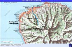 Papeete waar A.H. Gouwe gewoond heeft op Tahiti, Langs de rivier de Fautaua