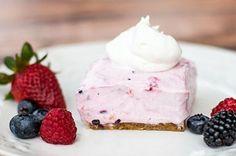 No-Bake Berry Smoothie Cheesecake -  http://m.kraftrecipes.com/recipedetail.do?recipeid=150849=US