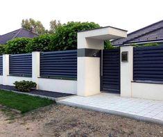 House Fence Design, Fence Gate Design, Modern Fence Design, Modern Gates, Gate Designs Modern, Tor Design, Backyard Fences, Diy Fence, Fence Ideas