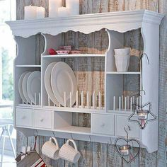 Shabby Chic Kitchen Wall Decorating Ideas 32 Beautiful Shabby Chic Kitchen Wall Decorating Ideas Even if you're pleased with your home decor, you can want to produce a few smallish modifications to present your house a fresh appearance. Cocina Shabby Chic, Muebles Shabby Chic, Shabby Chic Mode, Shabby Chic Kitchen Decor, Shabby Chic Style, Rustic Decor, Kitchen Rustic, Kitchen White, Open Kitchen