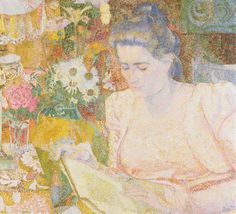 Jan Toorop--I love the soft, muted colours.  Beautiful