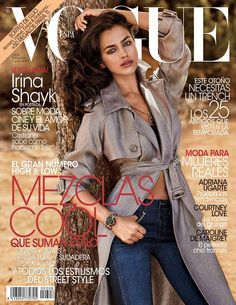 Irina Shayk Lands First Vogue Cover for Vogue Spain November 2013