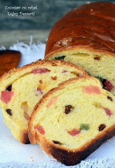 Search Results Cozonac cu rahat de post Romanian Desserts, Loaf Cake, Banana Bread, Cooking, Sweets, Draw, Food, Cherry Cake, Romanian Recipes