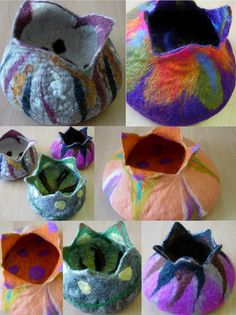 FELTING matters...: Felt Making Workshops for 2012... students work