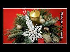 Crochet Christmas Decorations, Christmas Wreaths, Christmas Crafts, Merry Christmas, Xmas, Crochet Snowflakes, Crochet Home, Tatting, Ornaments