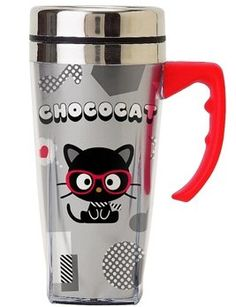 Chococat travel mug--I NEED!!!!!!!!!