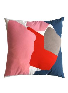 beneath the sun is offering up some bold & really pretty pillows as of late. and if you are in the mood for some more color, they have col. Soft Pillows, Decorative Pillows, Cute Cushions, Print Wallpaper, New Home Designs, Interior Design Inspiration, Colour Inspiration, Soft Furnishings, Cushion Covers
