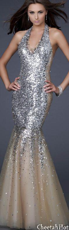 La Femme - Sequined Dress  --->> Please feel free to repin.