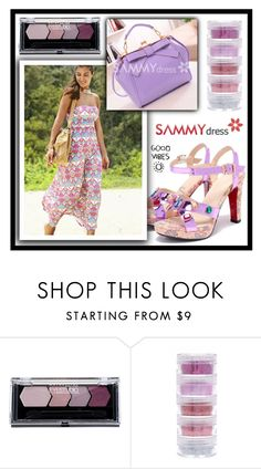 """Good Vibes"" by amra-sarajlic ❤ liked on Polyvore featuring Maybelline and sammydress"
