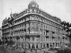 """Warsaw the head office of the Insurance Company """"Rossija"""" at Marszałkowska Street Homeland, Frocks, Past, Cities, Buildings, Louvre, Polish, Sculpture, Country"""