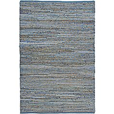 @Overstock - This Blue Jeans Rug is hand crafted of recycled denim and natural hemp. This rug has varying shades of blue throughout the rug, is completely reversible, extremely durable and is finished with a blue cotton edging.http://www.overstock.com/Home-Garden/Hand-Woven-Blue-Jeans-Rug-4-x-6/6580905/product.html?CID=214117 $60.99