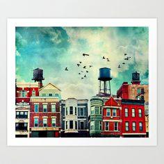 A Noble Avenue Art Print by Tim Jarosz - $17.68