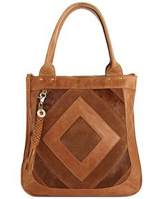Lucky Brand Handbag Baldwin Tote With Haircalf Handbags Accessories Macy S