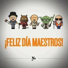 Happy Teacher`s Day / Dia-Del-Maestro Teacher Awards, Happy Teachers Day, Teachers' Day, Geek Humor, Cute Images, Teacher Appreciation, Kids Learning, Teacher Gifts, Funny Jokes