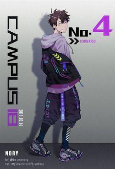 Manga Art, Manga Anime, Anime Art, Mode Cyberpunk, Ichimatsu, Art Reference Poses, Boy Art, Anime Outfits, Character Design Inspiration