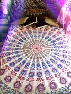 A personal favorite from my Etsy shop https://www.etsy.com/au/listing/248415592/bohemian-mandala-throw-tapestry-wall