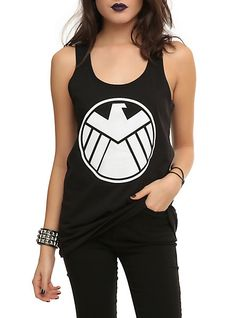 Marvel Her Universe Hydra Takeover Glow Girls Tank Top | Hot Topic