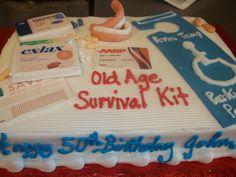 Old Fart Birthday Cake Cakes Pinterest 65 Birthday Cake 60th