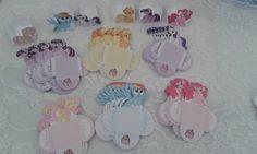 FORMINHAS PARA DOCINHOS TEMA MY LITTLE PONNY    Nas cores a sua escolha; aplicação de figuras a sua escolha, conforme a decoração de sua festa. R$ 1,16