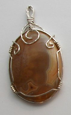 Wire Wrapped Pendants for Sale | Wire wrapped jewelry items for sale.