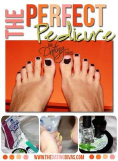 DIY: Perfect Spa Pedicure at Home. Get my feet pretty for summer fun.