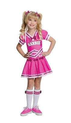 Barbie Cheerleader Kids Costume - Toddler -- This is an Amazon Affiliate link. See this great product.