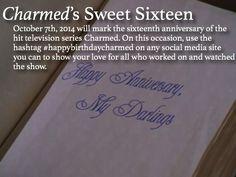 Charmed anniversary
