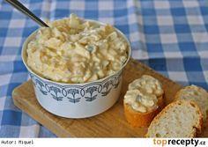 Vajíčkový salát Czech Recipes, Russian Recipes, Ethnic Recipes, Breakfast Snacks, Polish Recipes, Easy Cooking, Salad Recipes, Macaroni And Cheese, Oatmeal
