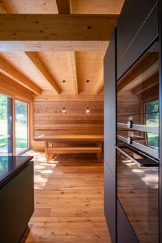 Martin Zeman - DAtelier - Dřevostvaba v Krkonoších Divider, Room, Furniture, Home Decor, Bedroom, Rooms, Interior Design, Home Interior Design, Arredamento