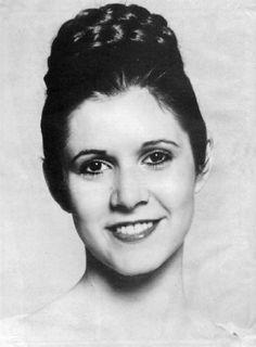Princess Leia's ceremonial hairstyle
