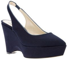 Canvas Wedge Shoe - Lyst