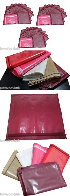 Storage Bags and Preservation 175631 Pack 36 Pcs Maroon Saree Shirt Bedsheet Garments Covers Organizers & Storage Bags and Preservation 175631: 12 Pcs Purple Frill Saree ...