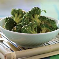 Sesame-Ginger Steamed Broccoli by Vegetarian Times
