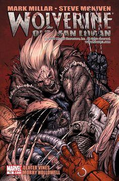 Wolverine Vs Sabertooth, Omega Red & Lady Deathstrike by Steve McNiven Marvel Wolverine, Marvel Comics, Logan Wolverine, Bd Comics, Marvel Vs, Marvel Heroes, Punisher, Comic Book Characters, Horror Films