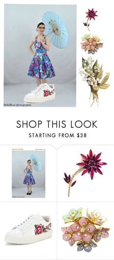 """""""May Flowers"""" by vintagesue ❤ liked on Polyvore featuring Chanel"""