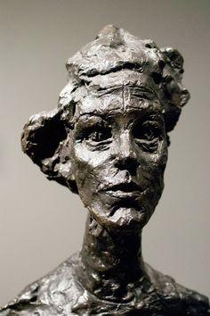 Annette VI by Alberto Giacometti Alberto Giacometti, Sculptures Céramiques, Art Sculpture, Abstract Sculpture, Gagosian Gallery, Plastic Art, Contemporary Sculpture, Art Plastique, Oeuvre D'art
