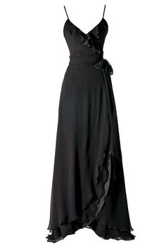 This is the dress I want for my bridesmaids. Brides Magazine: Style Inspiration: Formal Black and White Wedding : Bridesmaid Dresses Gallery Black Bridesmaids, Bridesmaid Dresses, Bridesmaid Ideas, Black And White Style, Wedding Dress Styles, Dress Patterns, Style Inspiration, Wedding Inspiration, Wedding Ideas