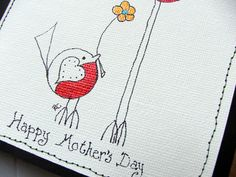 HandMade Mother's Day Card by akcflowerdesigns on Etsy, £2.00