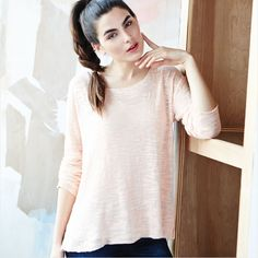 A lightweight sweater – one of the best things about transitioning from summer to fall.
